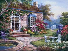 Sung Kim ~ Spring Patio