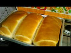 Como Fazer Pão Caseiro (Receita Da Lu) - YouTube Healthy Chicken Recipes, Cooking Recipes, Easy Banana Bread, Sandwiches, How To Make Homemade, Hot Dog Buns, Food Videos, Food And Drink, Meals