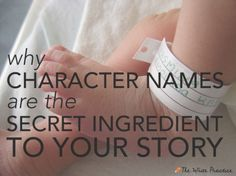 Why Character Names Are the Secret Ingredient to Your Story