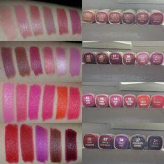 Milani lipstick swatches! Milani Lipstick, Milani Cosmetics, Lipstick Swatches, Makeup Swatches, Drugstore Makeup, Milani Color Statement Lipstick, Lipsticks, Makeup Must Haves, Makeup To Buy