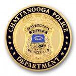 Chattanooga Police Dept. Sandblasted Coin