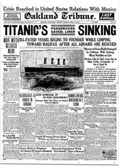 El Titanic, el naufragio más famoso de la historia.