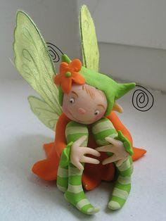 clay fairy idea