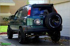 Cr-v offroad bumper