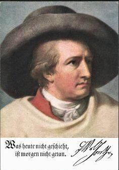 Goethe heeft meet de Hertog Van Sachsen-Weimar ook een bezoek gebracht aan de Pflanzschule (Militaire school) in Stuttgart maar heeft toen Schiller nog niet opgemerkt