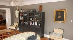 Cathedral Grey by Dutch Boy | How 14 Popular Paint Colors Look In Actual Rooms