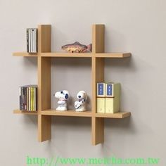 MASTER WALL SHELVES