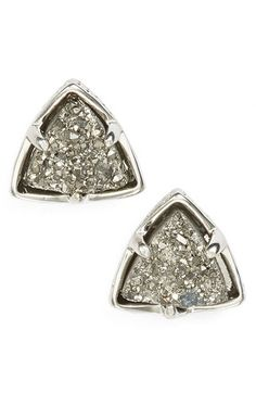 Kendra Scott 'Parker' Drusy Stud Earrings available at #Nordstrom