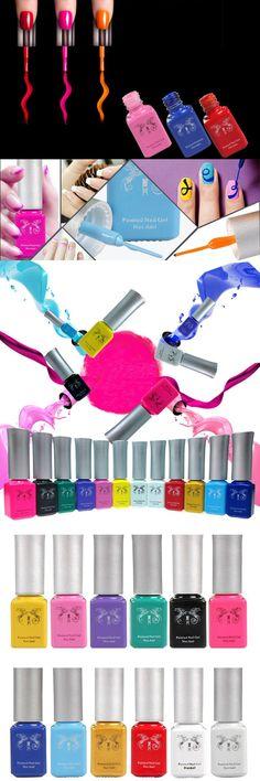 [Visit to Buy] 2016 New Trend 6ml UV Gel Nail Polish Nail Gel Liner Painting Nail Gel Dotting Tool DIY Nail Art Decoration Drawing Pen #Advertisement