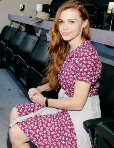 Holland Roden attends the 2015 BNP Paribas Open