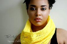 """The Tiarra "" Crochet Cowl"