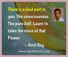 The God Part in you