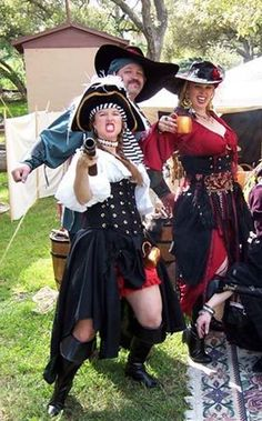 Titanya, Dondi and Jeff at the Renaissance Faire
