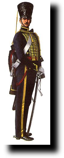 British Empire: Armed Forces: 7th Hussars: Private 1825