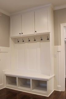 Mud Room Boot Bench - traditional - entry - kansas city - by Mack Colt Homes, Inc.