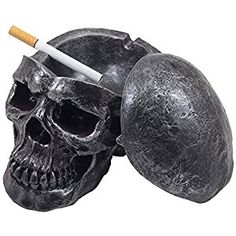 Collection Here Human Skeleton Band Fashion Mens Biker Punk Skull Fancy Creative Toys Skeleton Model Decor Collection Ornaments Ashtray Gift Pretty And Colorful Gags & Practical Jokes Toys & Hobbies