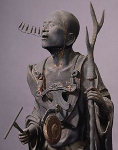 空也上人像(六波羅蜜寺)Kūya [ Rokuharamitsu-ji ] Around 1200?