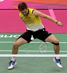 Contortionist - Malaysian badminton player Koo Kien Keat reaches between his legs to return the shuttlecock. Fill in your own punchline.