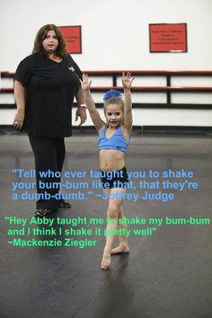 Mackenzie makes me laugh! Especially when she said that!