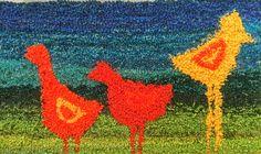 Aliisan tyttäret: Tuftausta Punch, Needlework, Moose Art, Animals, Embroidery, Dressmaking, Animales, Couture, Animaux