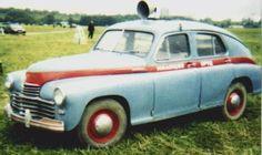 1946 GAZ-M20 Pobeda police restored