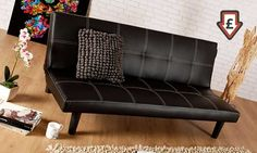 Groupon Goods Global Gmbh Chevalier Three Seater Sofa Bed In Choice Of Colour With