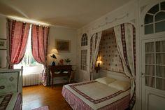 Chambre d'hôte Château de Chambiers #chambre #chateau #french #castle