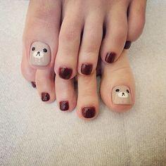 Ideas nails maroon beautiful for 2019 – Nail Art Cute Toe Nails, Toe Nail Art, Love Nails, My Nails, Stylish Nails, Trendy Nails, American Nails, Nails For Kids, Minimalist Nails