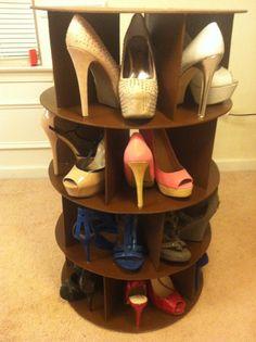 Shoe Carousel/Rack by nolyphetvixay on Etsy, $199.00