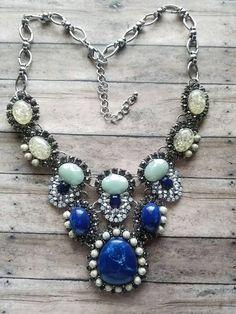 2K17 listing  https://www.etsy.com/listing/489098366/blue-stone-necklace-chunky-necklace-bib