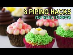 HowToCookThat : Cakes, Dessert & Chocolate | 8 Piping Hacks You Should Know - HowToCookThat : Cakes, Dessert & Chocolate