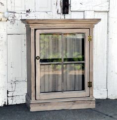 cabinets.made from vintage window - Google Search