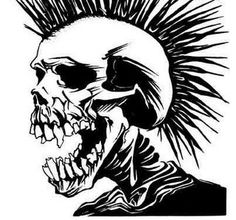 The Exploited Skull - One of the most iconic skulls ever.