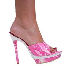 Snake print leather Aba heel 5.5″ heel leather green, hot pink, yellow