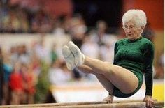 Your never too old. 86 yr old gymnast Johana Quaas is living proof. http://media-cache7.pinterest.com/upload/201747258277491576_ykLzIPEA_f.jpg dabombdgd crossfit