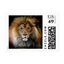 BOLD LION Postage Stamps