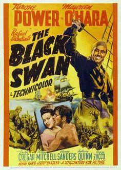 The Black Swan (1942) Action/Adventure. Tyrone Power, Maureen O'Hara.