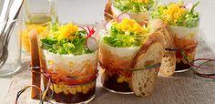 Rezept Schichtsalat im Glas