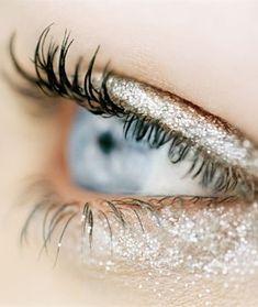 glitter & mascara #beauty #makeup