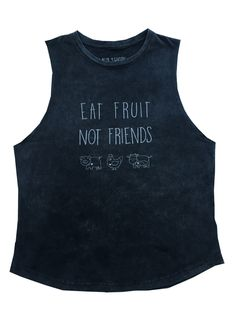 Eat Fruit.Not Friends. All animals deserve to live in peace and free of  suffering.Let's make this world a cruelty-free one by spreading this  message far and wide.  WORLD-WIDE SHIPPING AVAILABLEFREE SHIPPING IN AUSTRALIA  To find your perfect fit please see our Sizing guide