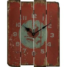 I pinned this Rooster Wall Clock from the Downhome Home Decor event at Joss and Main!