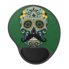 Retro Mustache Sugar Skull Gel Mouse Mat Yes I can say you are on right site we just collected best shopping store that haveThis Deals          	Retro Mustache Sugar Skull Gel Mouse Mat today easy to Shops & Purchase Online - transferred directly secure and trusted checkout...