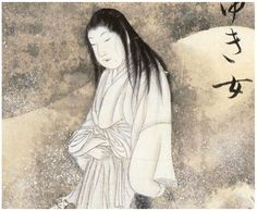 There are many variations of this popular Japanese tale. Yuki-onna is usually described as having white skin, a white kimono, and long black hair. She appears in snowfall and glides without feet over the snow like a ghost. She feeds on human essence, and her killing method of choice is to blow on her victims to freeze them to death and then suck out their souls through their mouths.