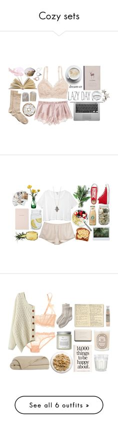 """Cozy sets"" by paligg ❤ liked on Polyvore"