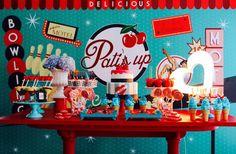 Chá da Pati | Tema: Pin Up | Chá de Pangerie no Casar.com, onde você encontra Inspirações e Dicas para seu Casamento feito por quem mais entende do assunto