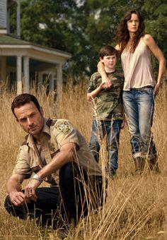Rick, Lori, & Carl Grimes