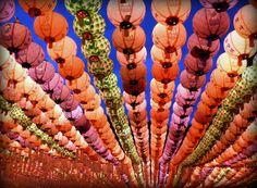 south korean lanterns