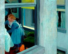 "Edward Hopper - ""Apartment Houses"", 1923."