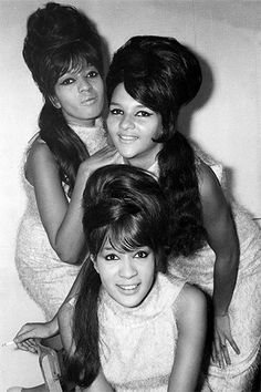 Fab photo of The Ronettes...