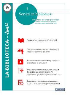 Servizi in biblioteca